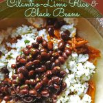 Our Version of Cafe Rio's Cilantro-Lime Rice and Black Beans