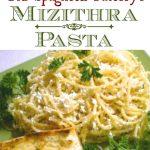 Old Spaghetti Factory's Mizithra Pasta