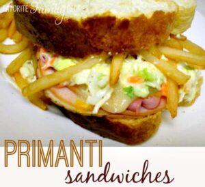 Primanti Sandwiches