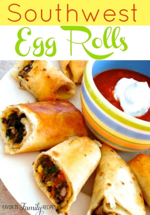 Southwest Egg Rolls