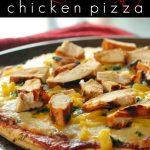 BBQ Cilantro Chicken Pizza