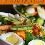 Baked Buffalo Chicken Salad