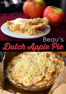Beaus Dutch Apple Pie