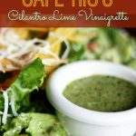 Our Version of Cafe Rio's Cilantro-Lime Vinaigrette