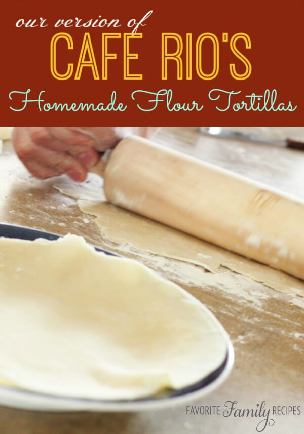 Cafe Rios Flour Tortillas