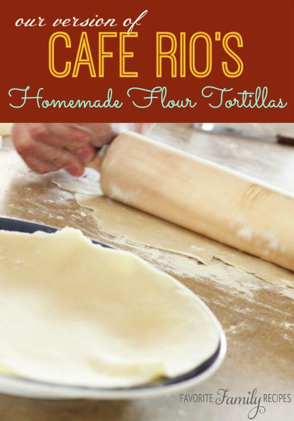 Cafe Rios Flour Tortillas
