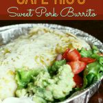 Our Version of Cafe Rio's Sweet Pork Burrito