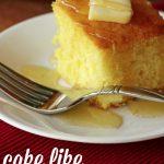 Cake-y Cornbread