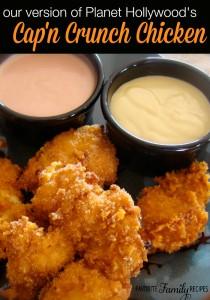 Planet Hollywood Capn Crunch Chicken