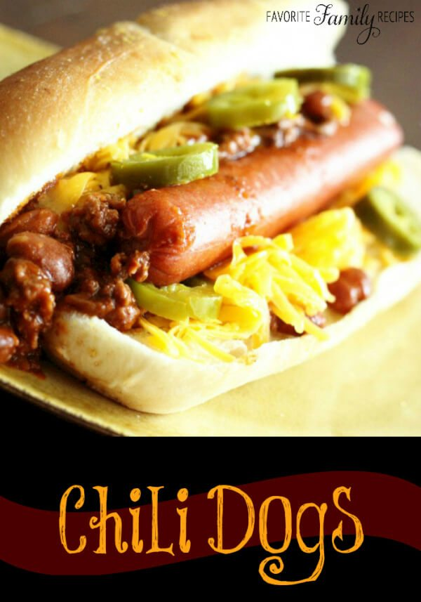 Who doesn't love chili dogs? We usually have these with chili ...