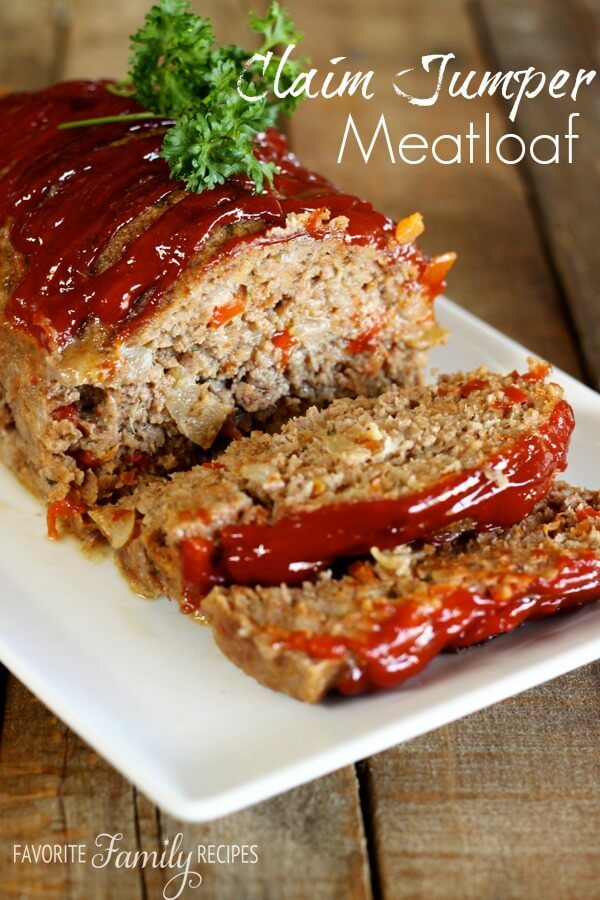 Claim Jumper Meatloaf recipe
