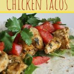 Easy Summer Chicken Tacos