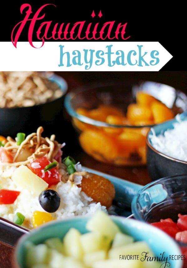 Hawaiian Haystacks