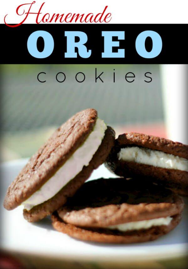 Homemade Oreo Cookies -Favorite Family Recipes