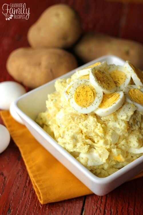 Homestyle Potato Salad Recipe