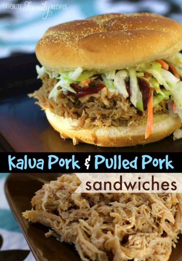 Kalua Pork / Pulled Pork Sandwiches