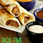 Our Version of Taco Time Crisp Bean Burritos