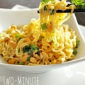 Two Minute Thai Peanut Noodles Recipe