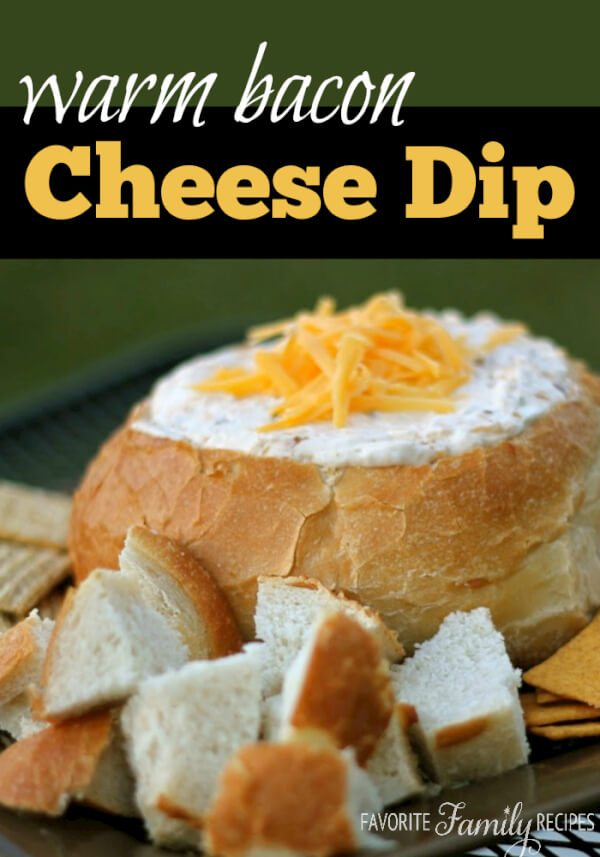 Warm Bacon Cheese Dip