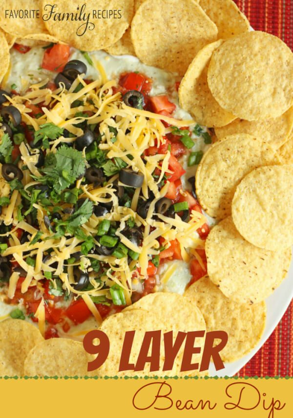 9 Layer Bean Dip Recipe