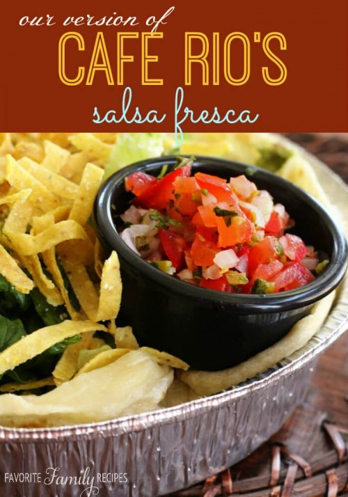 Cafe Rio Salsa Fresca Recipe