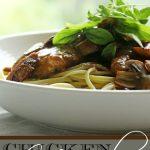 Elise's Chicken Marsala
