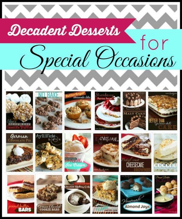 Decadent Desserts for Special Occasions