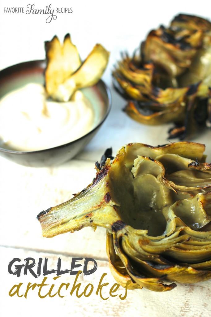 Grilled Artichokes with Lemon Mayo Dip - favfamilyrecipesFavorite ...