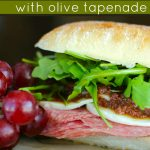 Italian Sandwiches with Olive Tapenade