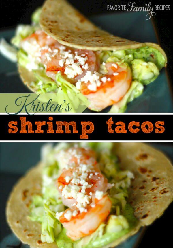 Kristens Shrimp Tacos