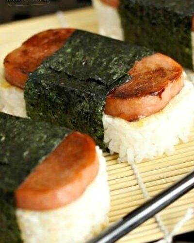 How To Make Spam Musubi Favorite Family Recipes