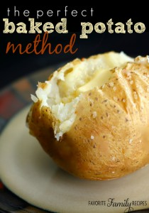 The Perfect Baked Potato Method