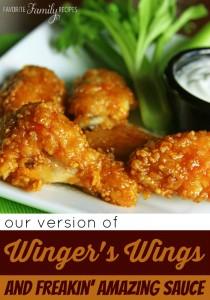 Wingers Wings Freakin Amazing Sauce Recipe