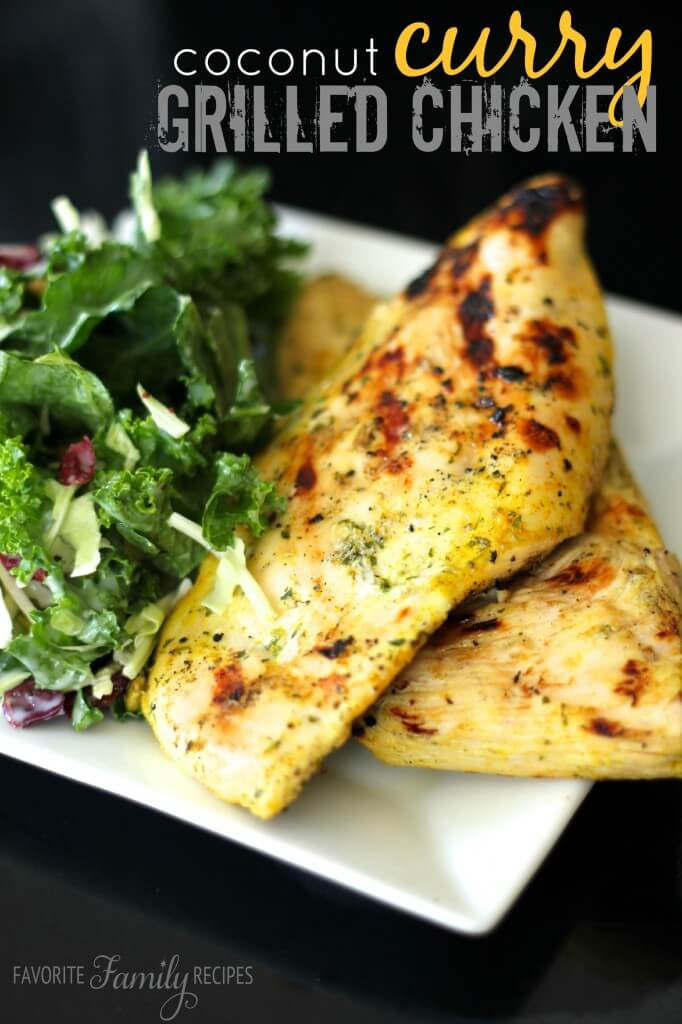 Coconut Curry Grilled Chicken