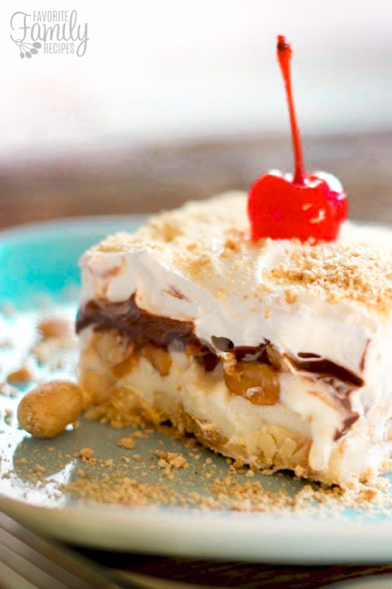 Frozen Banana Split Dessert