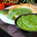 Fresh Homemade Basil Pesto