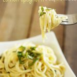 Fresh and Easy Lemon Spaghetti