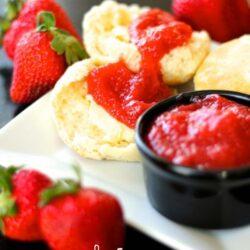 Fresh and Easy Strawberry Jam