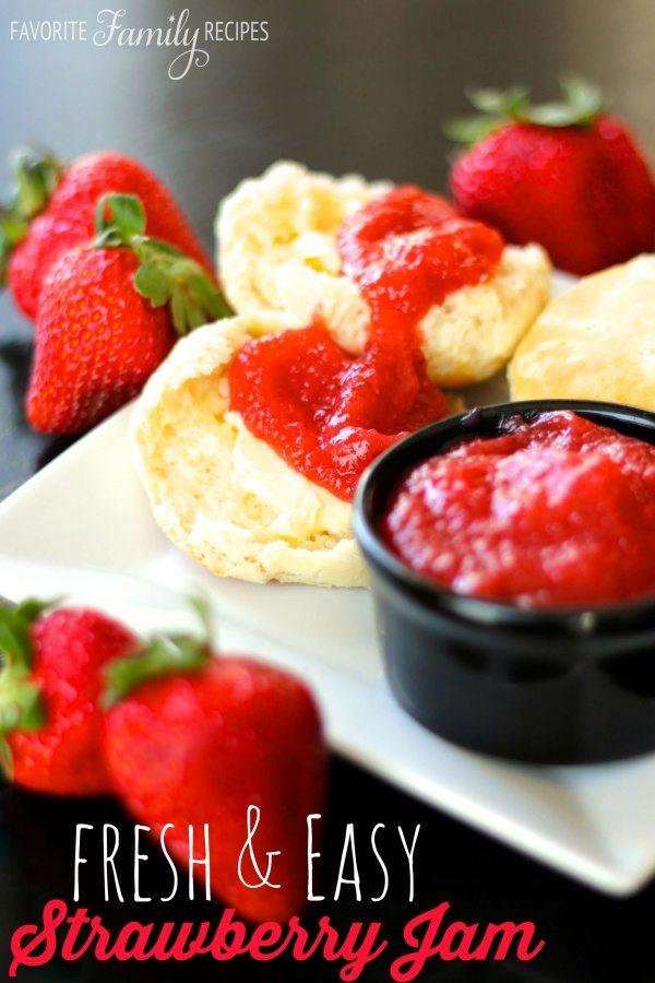 Fresh and Easy Strawberry Jam Recipe
