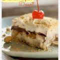 Frozen Banana Split Dessert