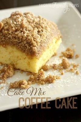 Cake Mix Coffee Cake Recipe