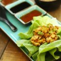 Easy Asian Stlye Chicken Lettuce Wraps Recipe