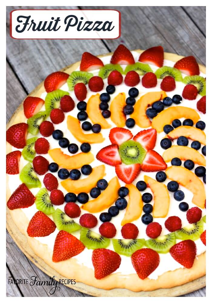 This Easy Fruit Pizza is the result of a fruit pizza I tasted at a ...