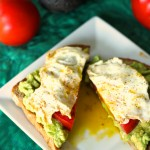 Open Face Avocado Egg Sandwich