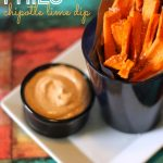 Sweet Potato Fries with Chipotle Lime Dip