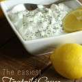 The easiest Tzatziki sauce
