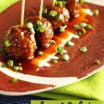 Sweet & Spicy Slow Cooker Appetizer Meatballs