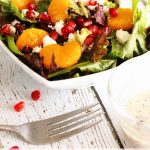 Christmas Salad with Creamy Poppy Seed Dressing