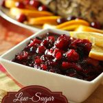 Low Sugar Cranberry Sauce