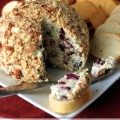 cranberry almond bacon cheese ball
